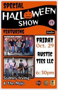 SK! Live @ Rustic Ties (Dolgeville NY) Halloween Party @ Rustic Ties LLC
